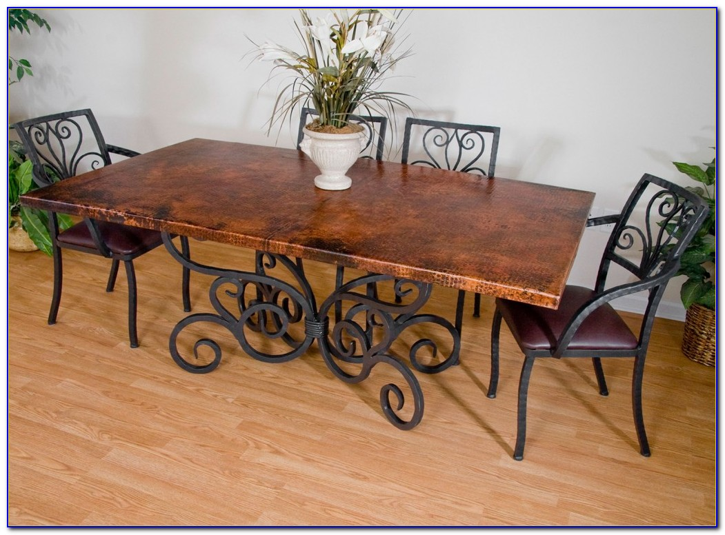 Wrought Iron Table And Chairs Vintage