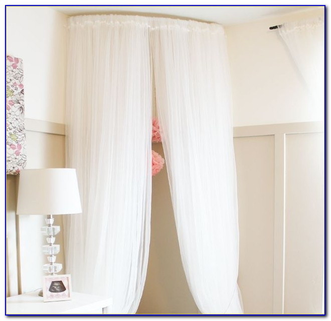 Arched Window Drapery Rods