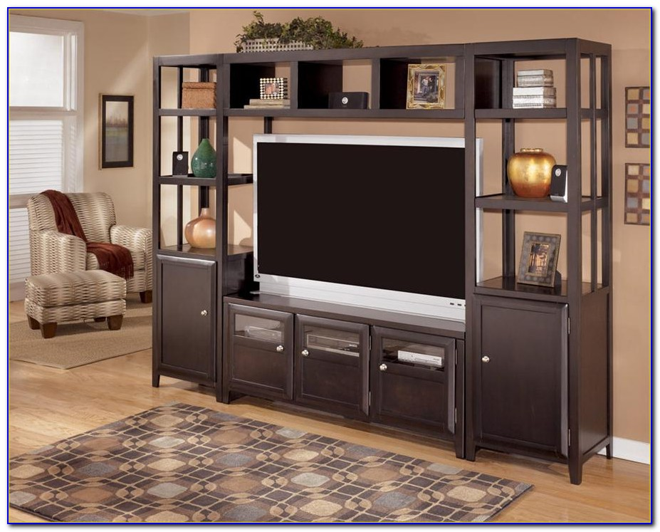 Ashley Furniture Entertainment Center North Shore