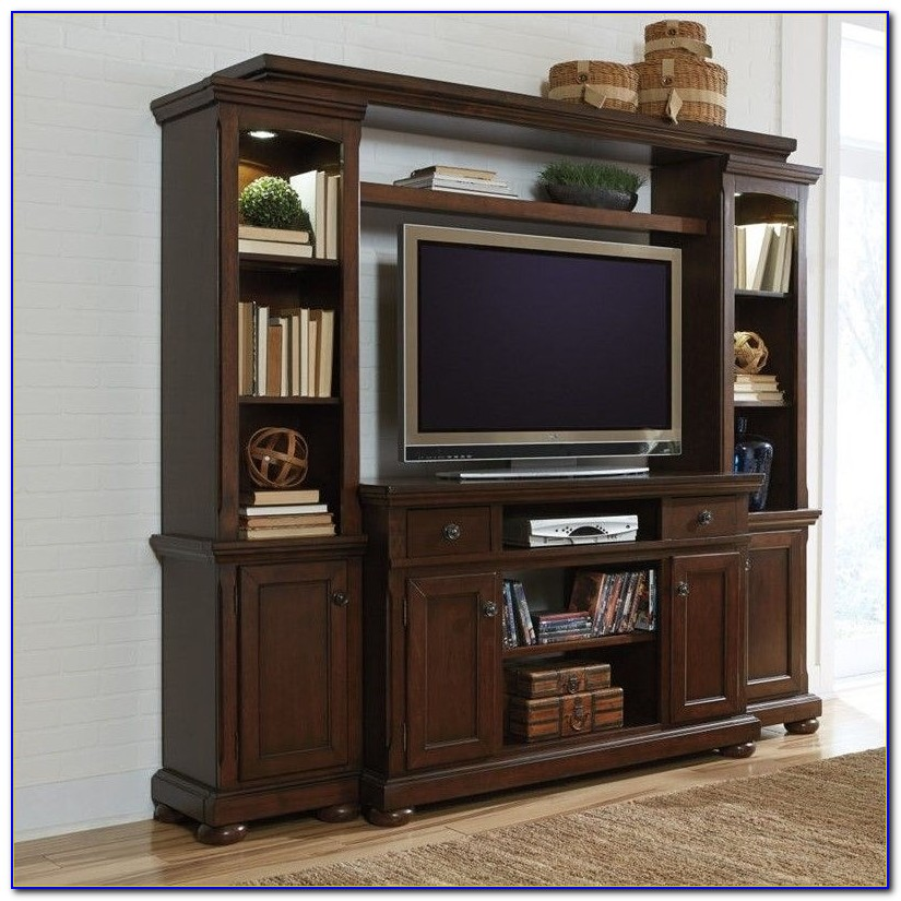 Ashley Furniture Entertainment Center Porter