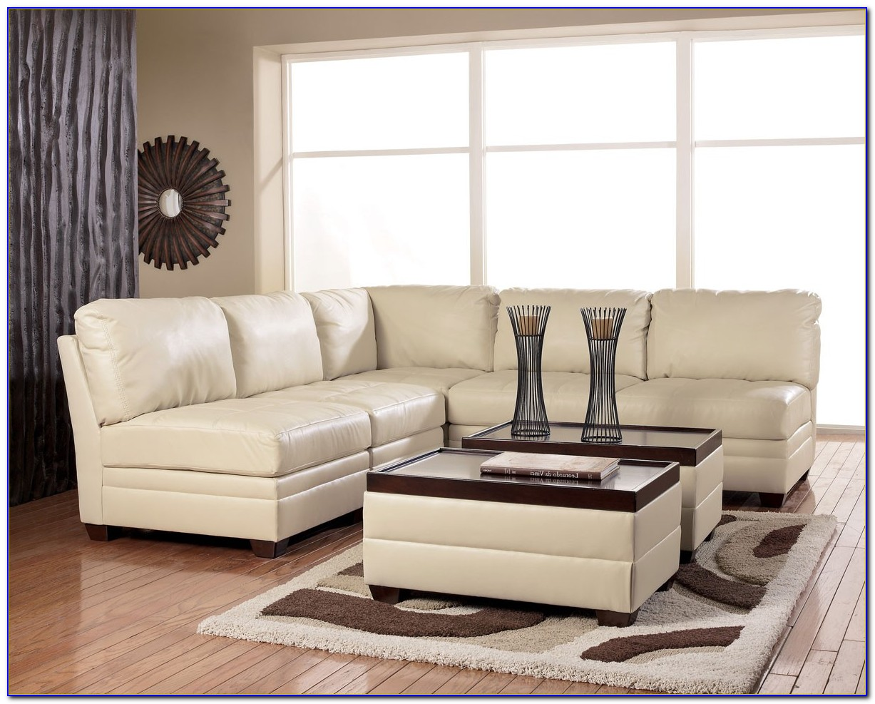 Ashley Furniture Leather Sofa And Loveseat