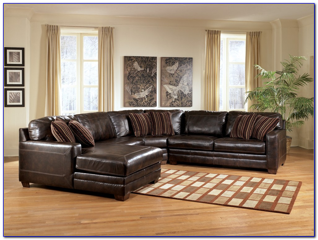 Ashley Furniture Leather Sofa Bed