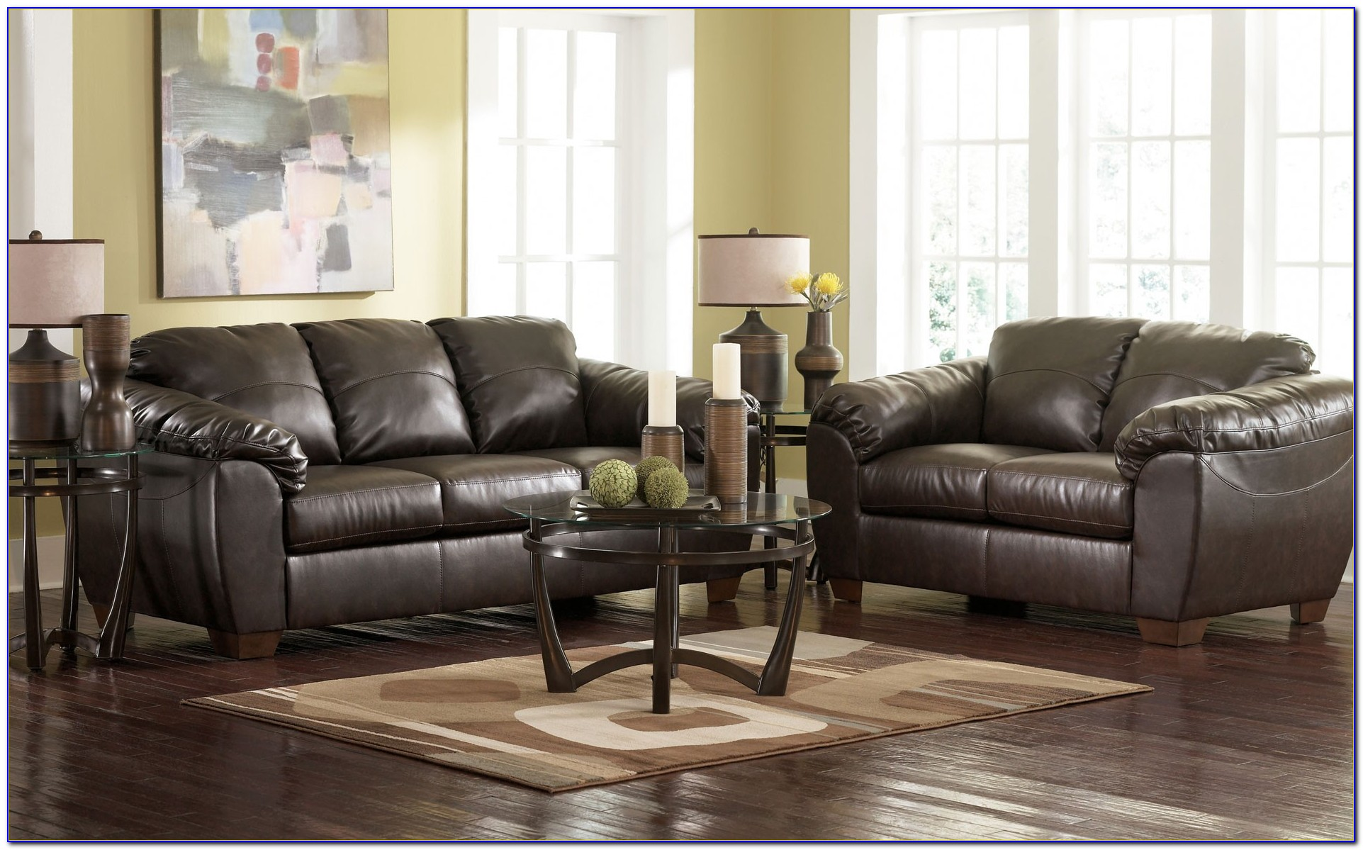 Ashley Furniture Leather Sofa Recliners