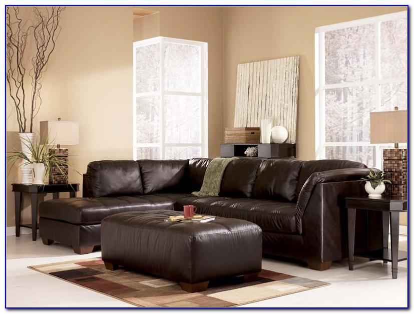 Ashley Furniture Leather Sofa Sleeper
