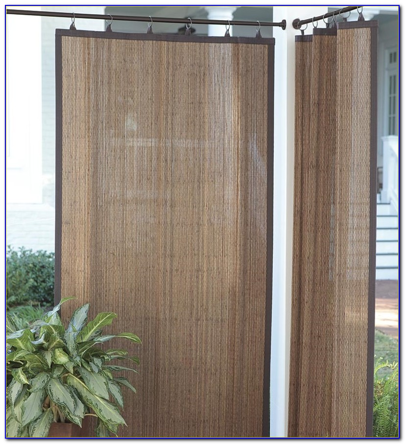 Bamboo Curtain Panels Outdoor