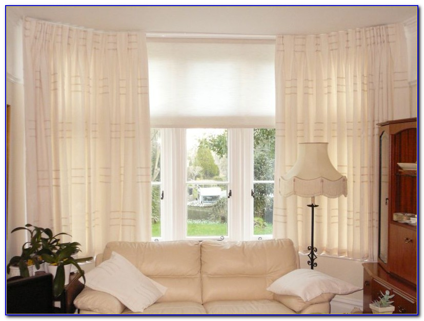 Bay Window Curtain Ideas Pinterest