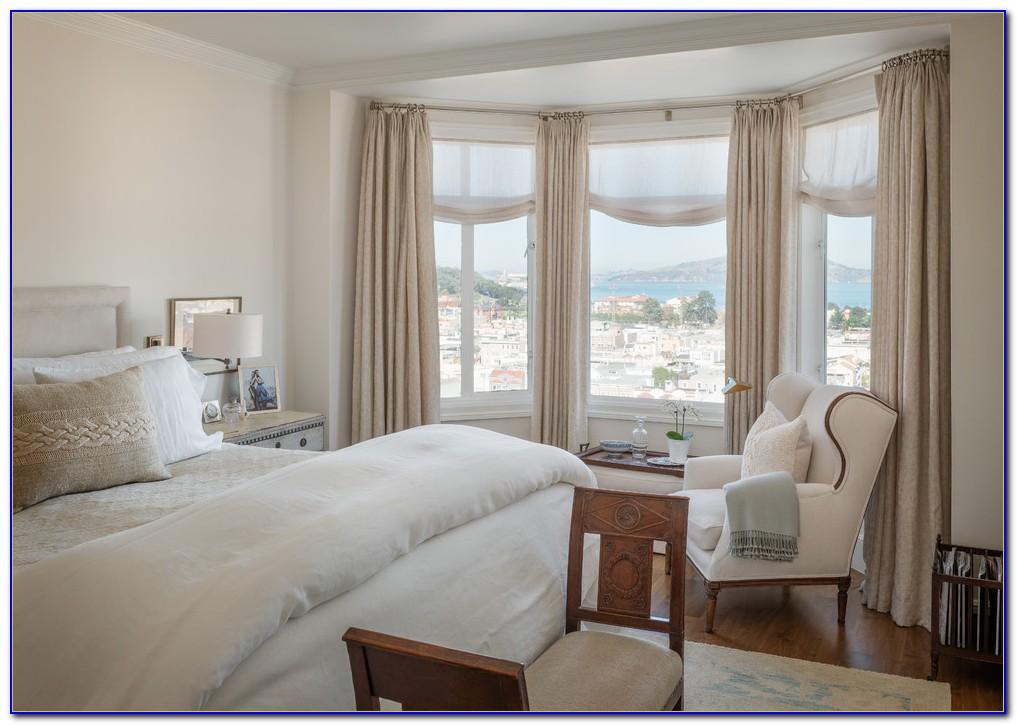 Bay Window Curtains Ideas Blinds