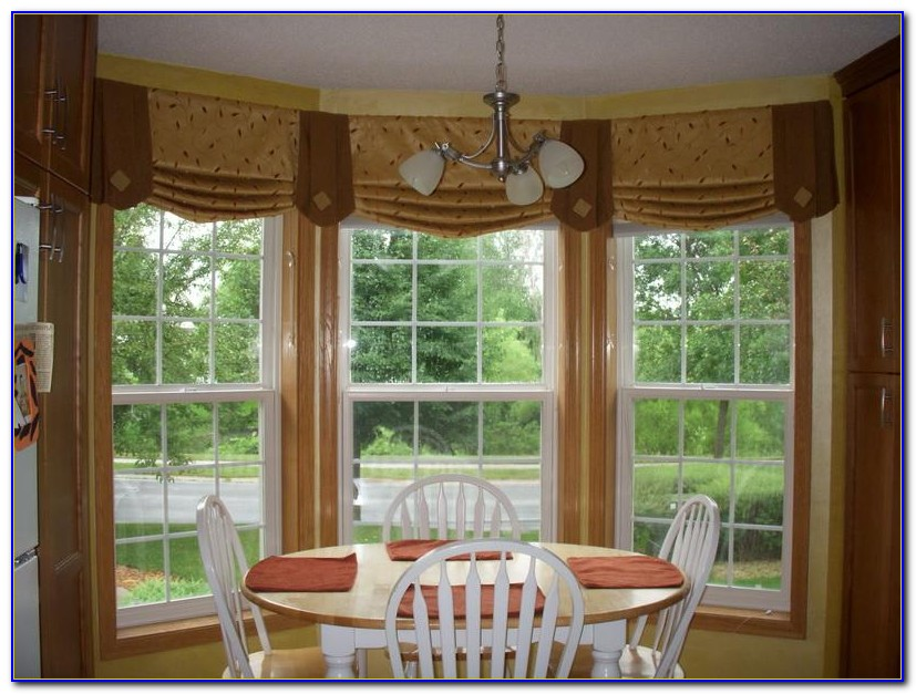 Bay Window Treatment Ideas Living Room