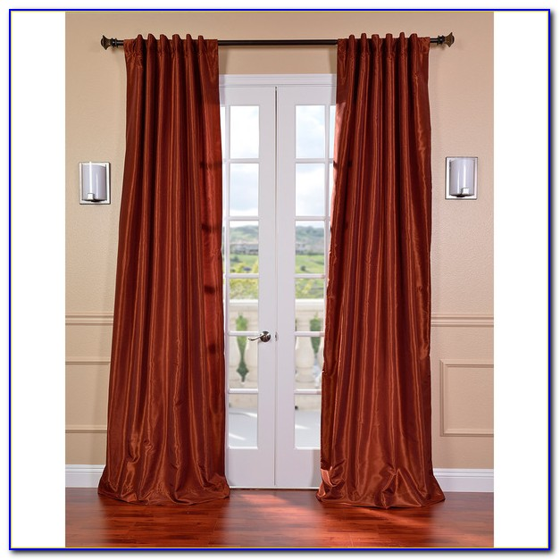 Burnt Orange Curtains Ebay