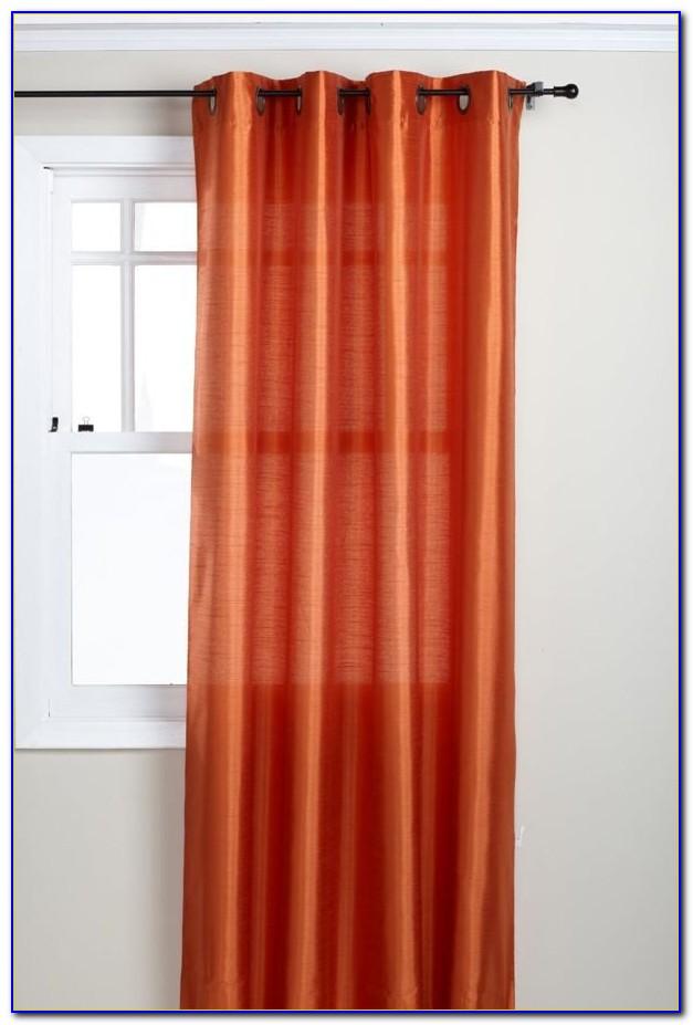 Burnt Orange Curtains Next