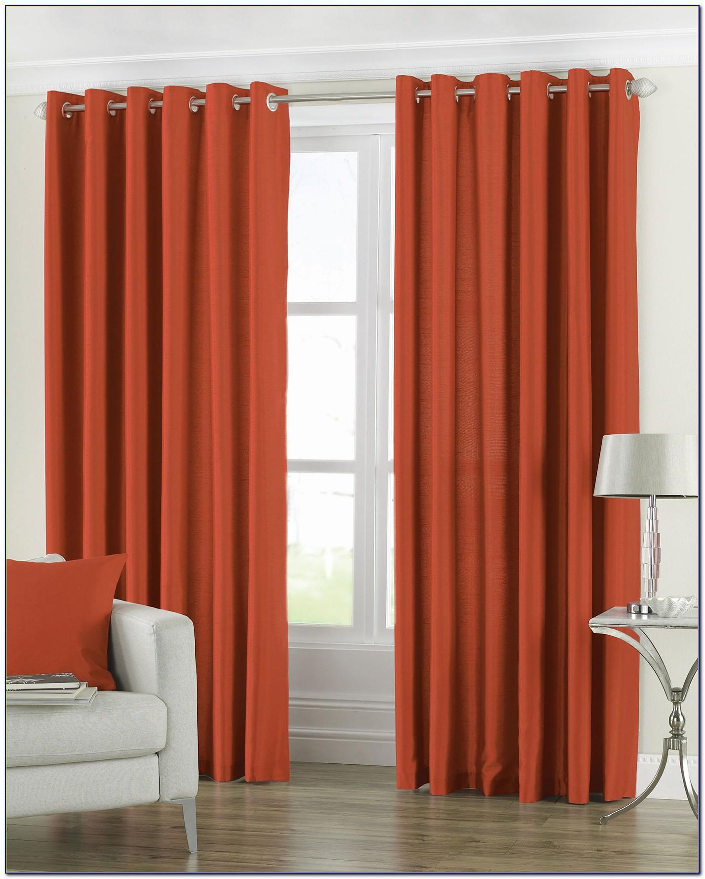 Burnt Orange Curtains Target