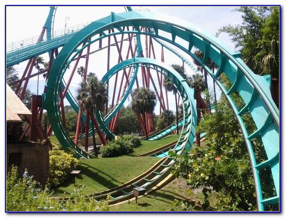 Busch Gardens Tampa Rides By Height