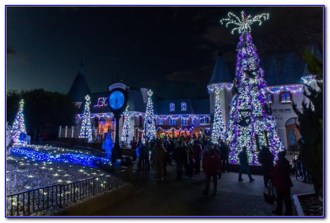 Christmas Town Busch Gardens Williamsburg 2016