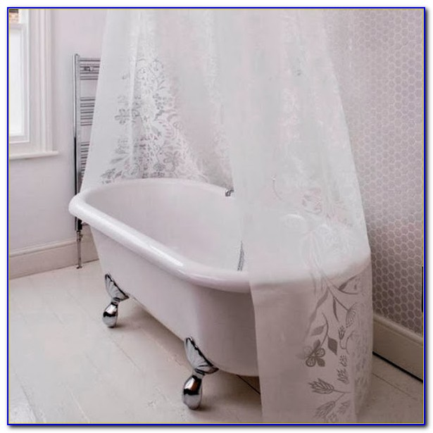 Clawfoot Tub Shower Curtain 180 X 70