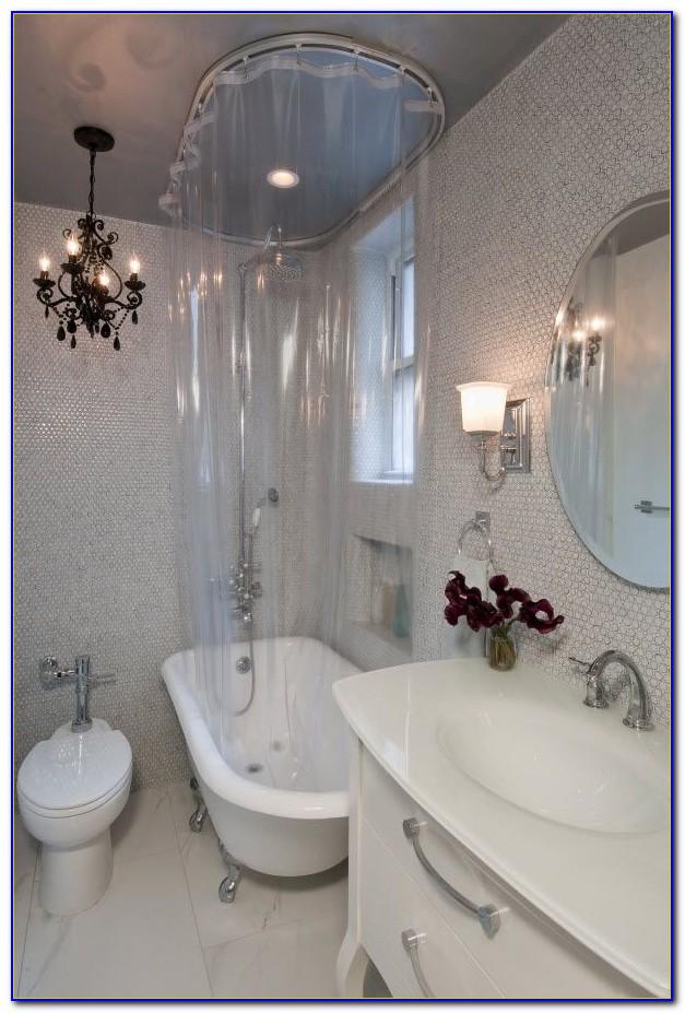 Clawfoot Tub Shower Curtain Frame