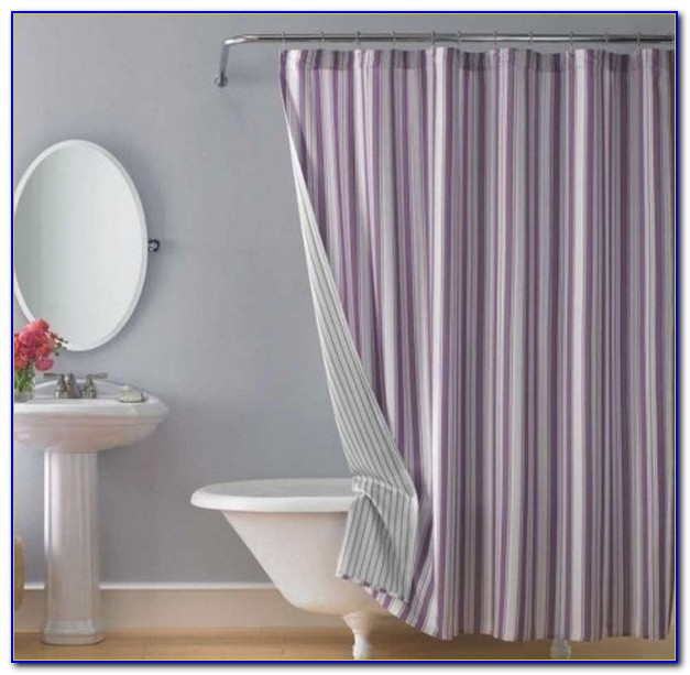 Clawfoot Tub Shower Curtain Kit