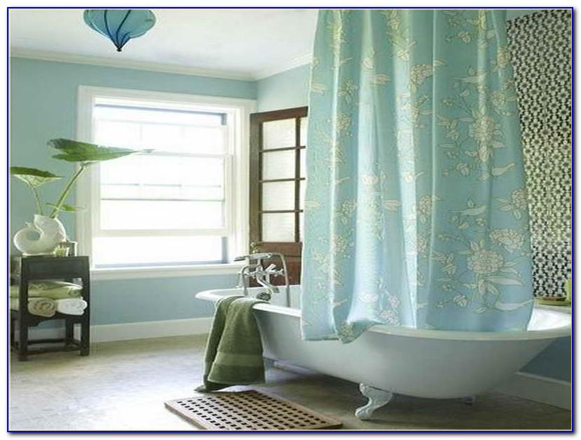 Clawfoot Tub Shower Curtain Size