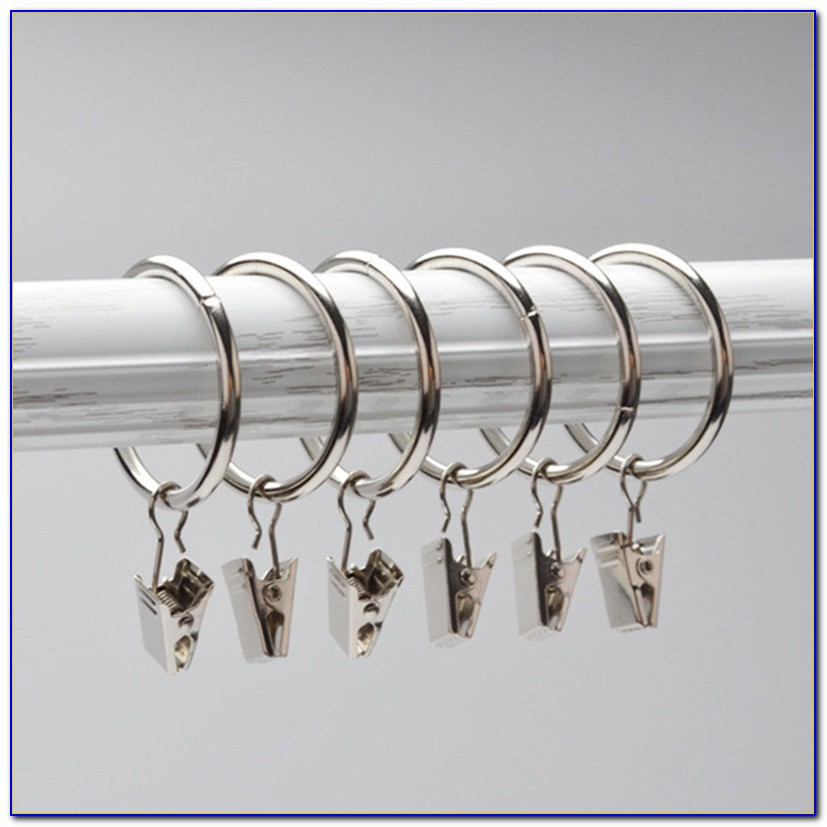 Curtain Rings With Clips Argos