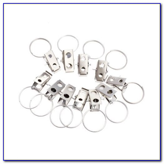 Curtain Rings With Clips In Bulk