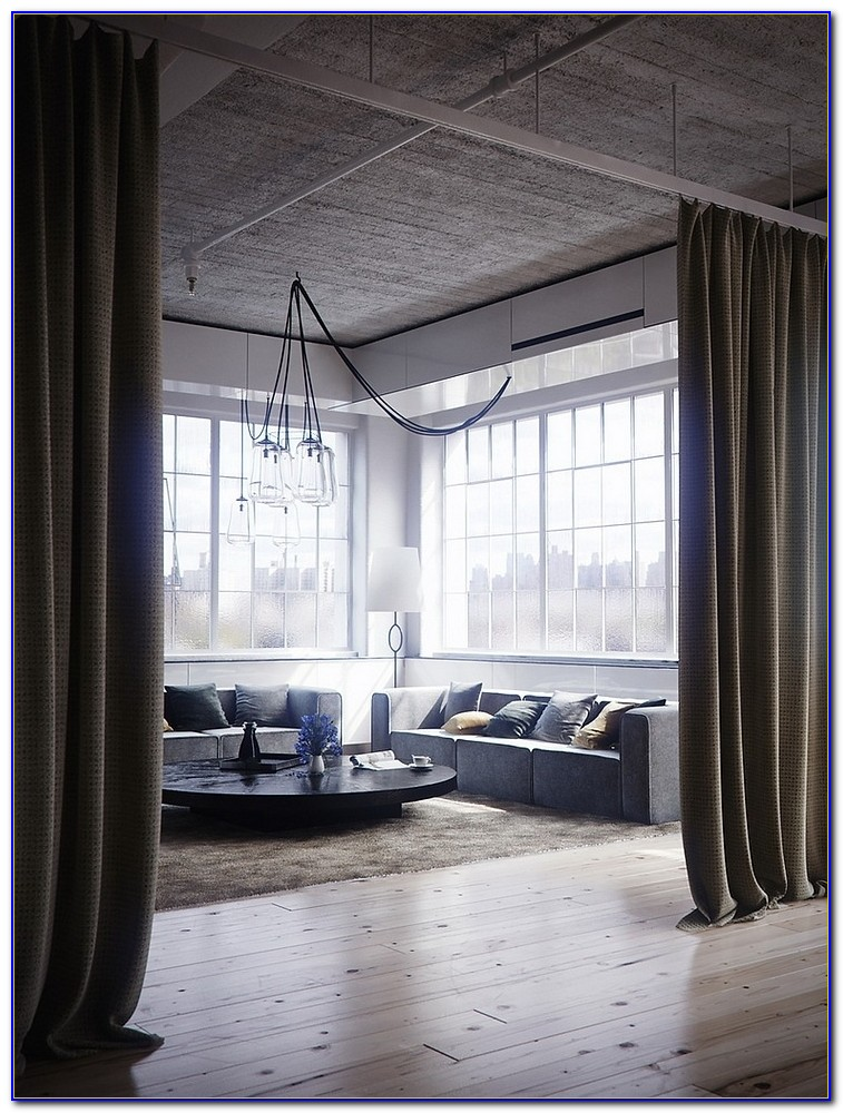Curtain Room Divider Without Drilling