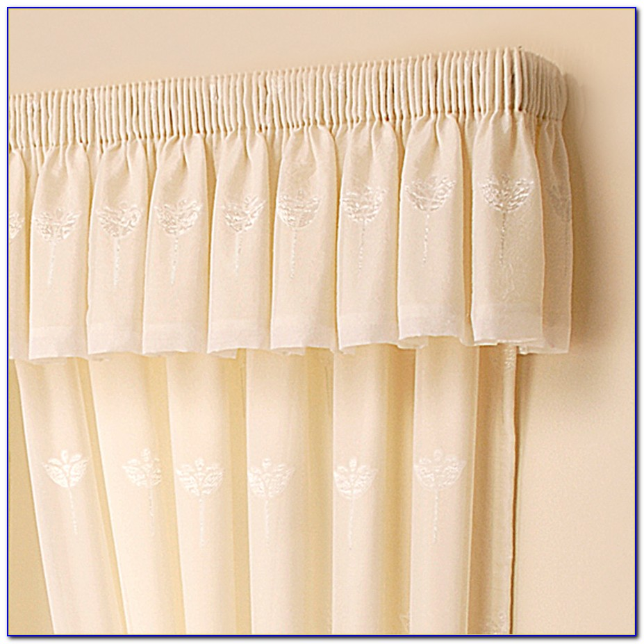 Curtains With Valance For Bay Window