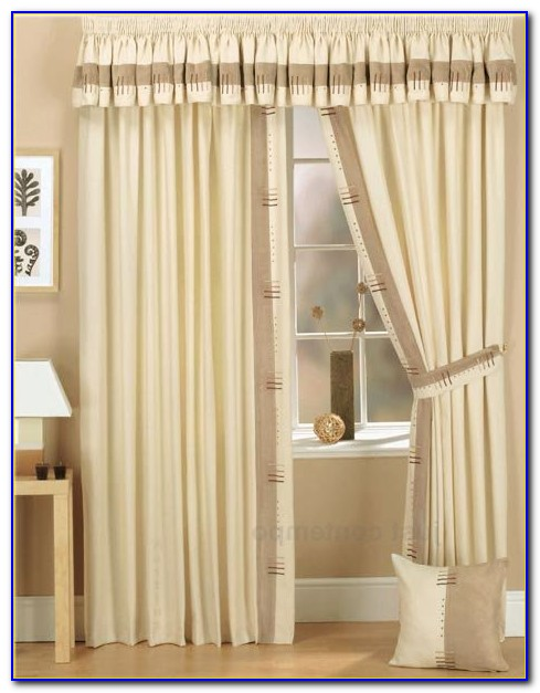 Curtains With Valance Pelmet