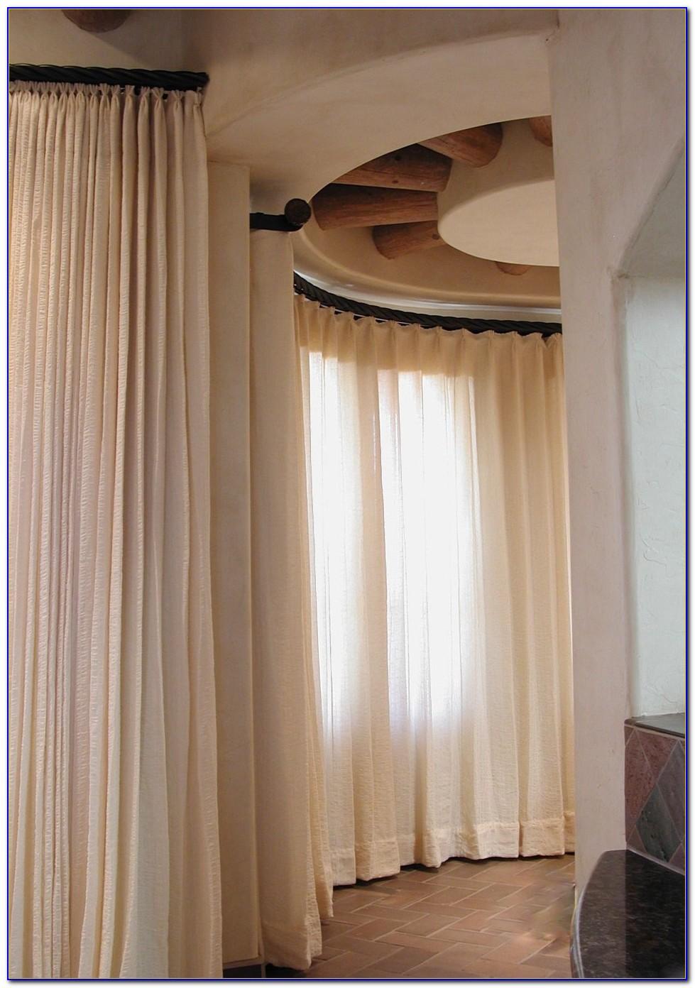 Curved Window Drapery Rods
