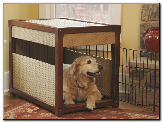 Decorative Dog Crate Ideas