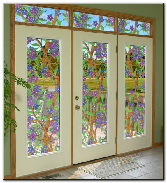 Decorative Stained Glass Window Film Tint
