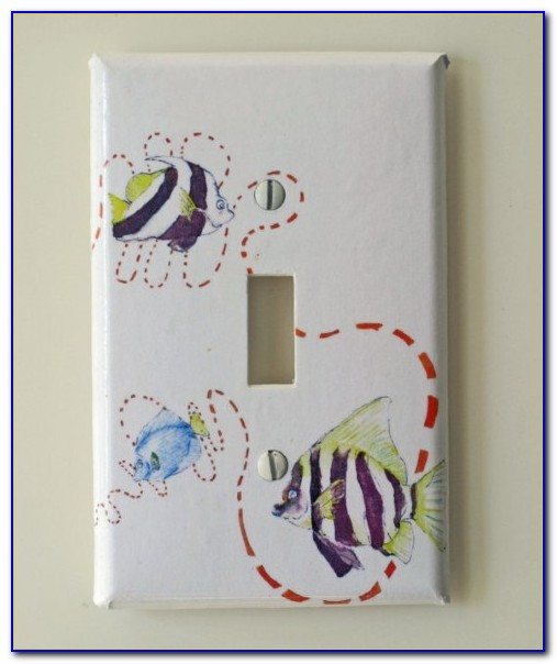 Decorative Switch Plate Covers Ceramic