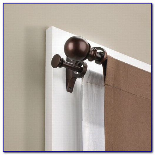Double Rod Curtain Target