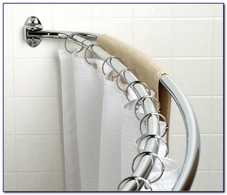 Double Shower Curtain Rod Ideas