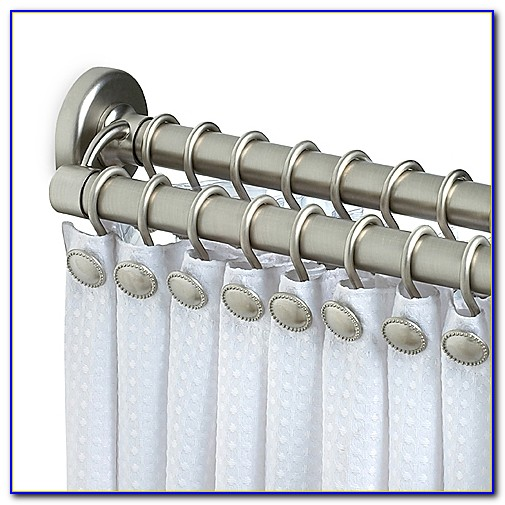 Double Shower Curtain Rod Tension
