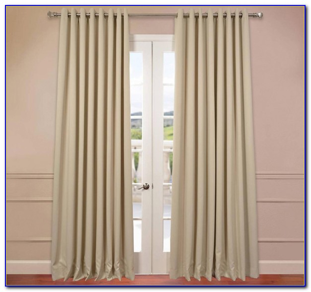 Extra Wide Curtain Panels For Patio Door