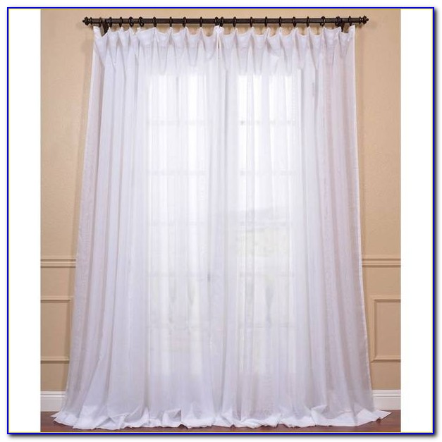 Extra Wide Curtain Panels Insulated
