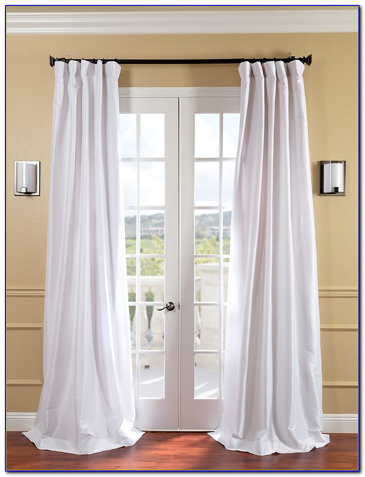 Faux Silk Curtains 108