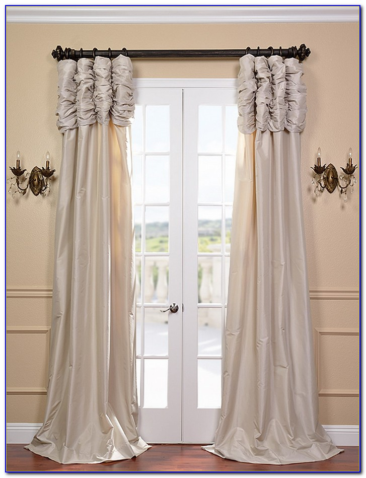 Faux Silk Curtains 96