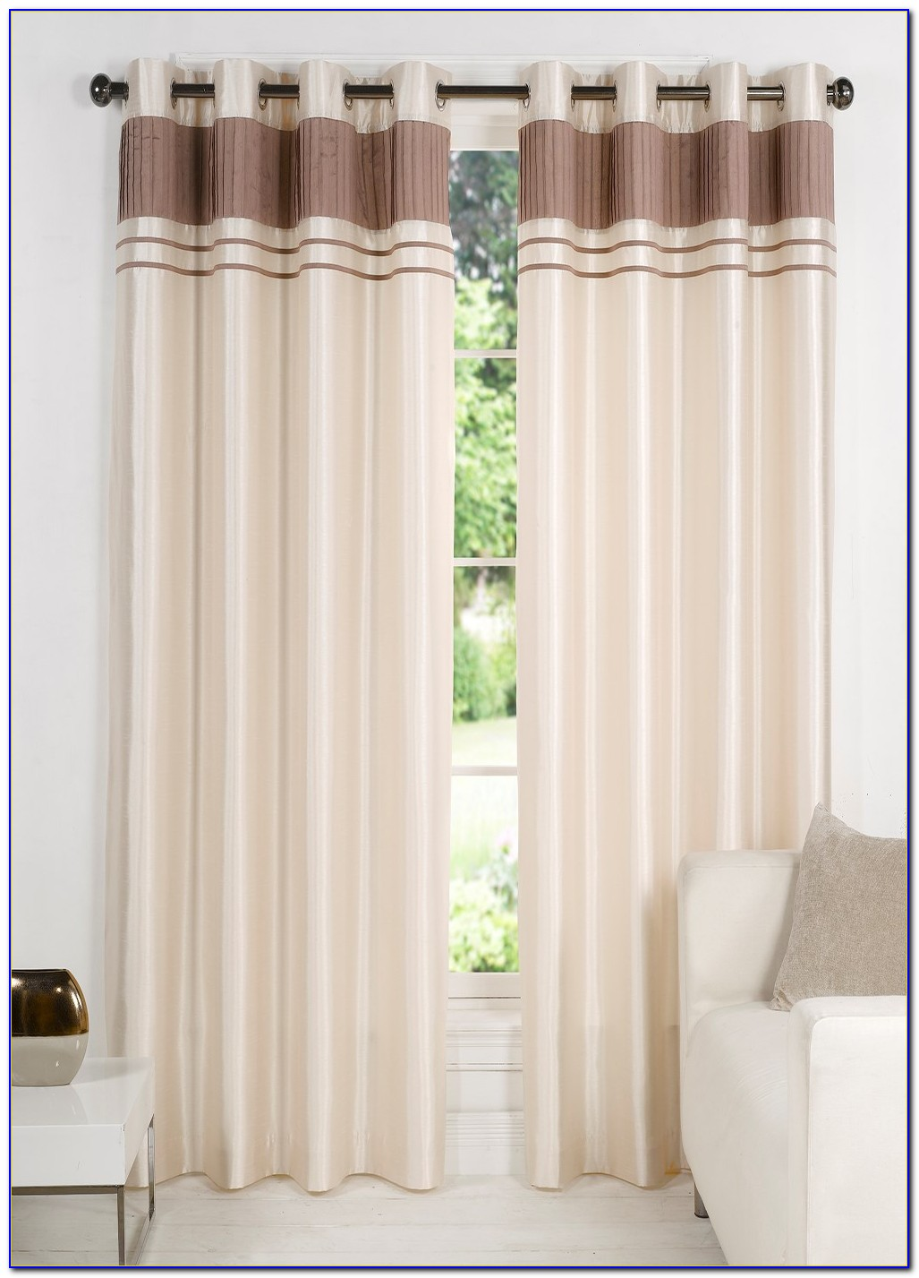 Faux Silk Curtains Amazon