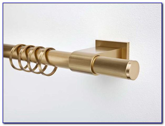 Gold Curtain Rod Target