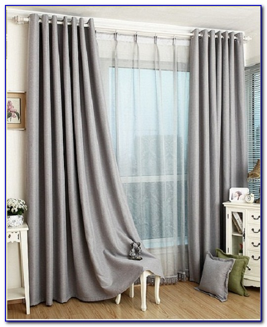 Grey Blackout Curtains Amazon