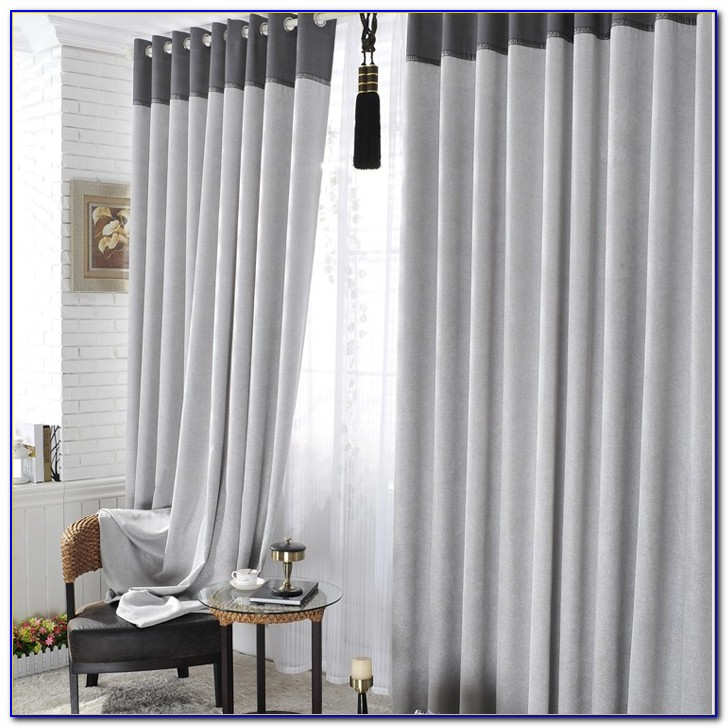 Grey Blackout Curtains Canada