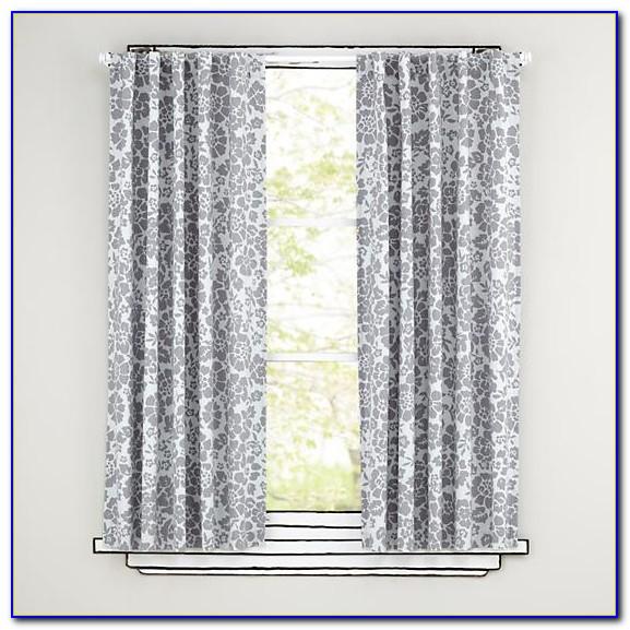 Grey Blackout Curtains Grommet