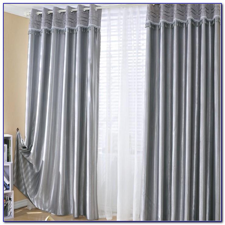 Grey Blackout Curtains Target
