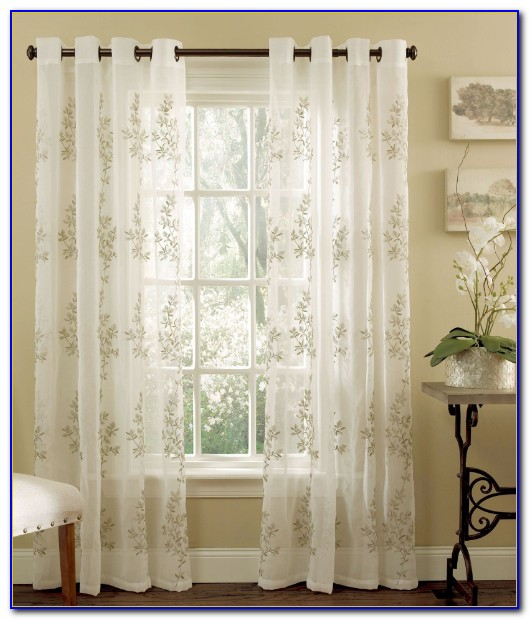 Grommet Curtain Panels Diy