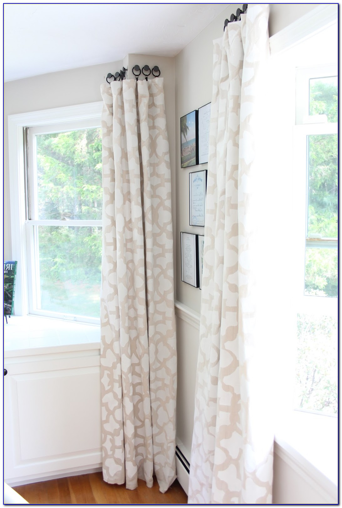 Hanging Curtain Rods In Studs