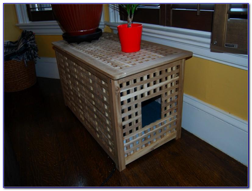 Hidden Cat Litter Box Cabinet