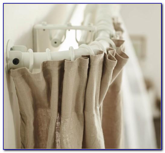 Ikea Curtain Rod Hack