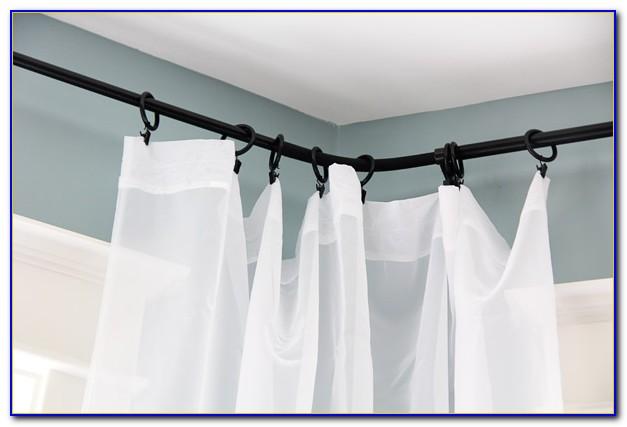 Ikea Curtain Rod Holder