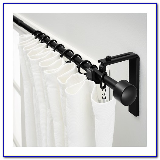 Ikea Curtain Rods For Bay Windows