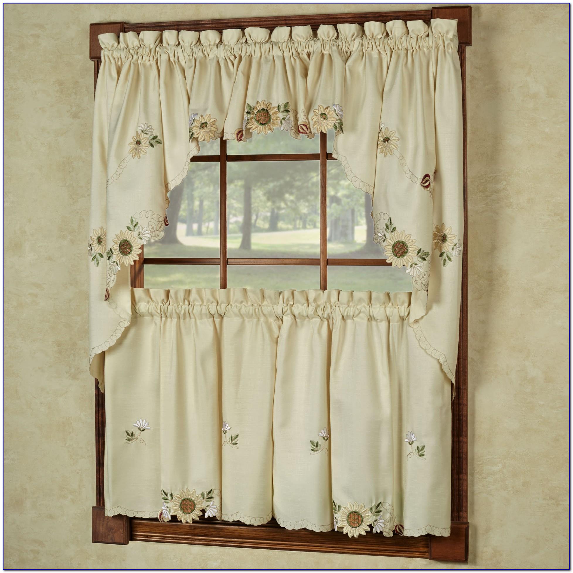 Kitchen Curtains And Valances Modern